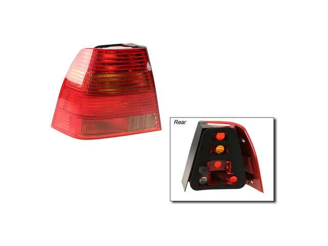 2003 Volkswagen Jetta Tail Light Assembly - AutoPartsWay.com